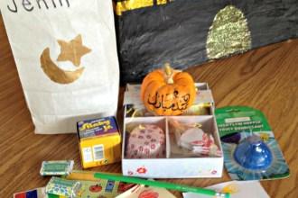 classroom eid treat bags