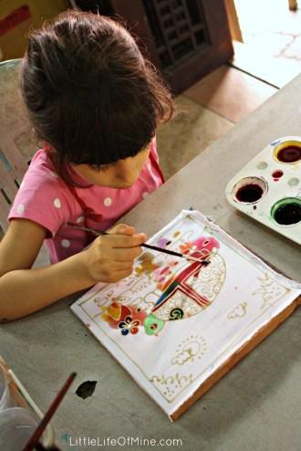 maysoon batik painting