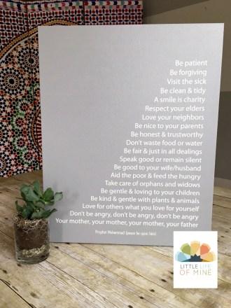 Prophetic Advice Canvas