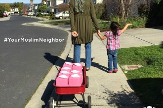 Your Muslim Neighbor Delivering Cookies