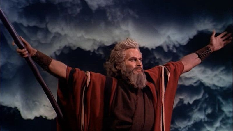"from movie ""THE TEN COMMANDMENTS"""