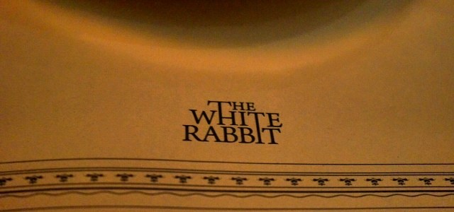 THE WHITE RABBIT