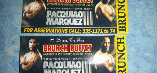 BRUNCH BUFFET, MANNY PACQUIAO AND A HEALTHY-EATER CONVERT