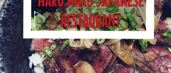 FOOD DISCOVERIES: HARU HARU JAPANESE RESTAURANT