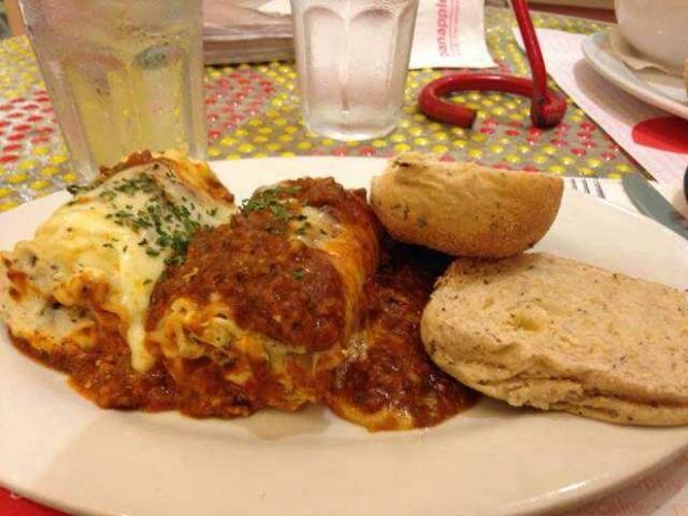 Pasta Lasagna Roll