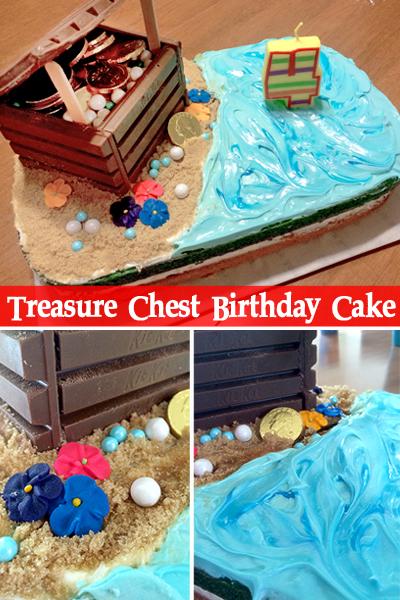 Treasure Chest Birthday Cake | Little Monkeys Crochet