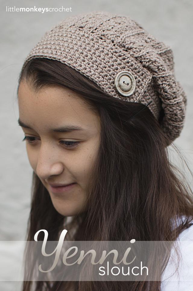 Free Crochet Slouchy Beanie Patterns
