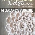 Nederlandse Vertaling: The Never Ending Wildflower Crochet Pattern  |  Free Crochet Pattern by Little Monkeys Crochet (www.littlemonkeyscrochet.com)