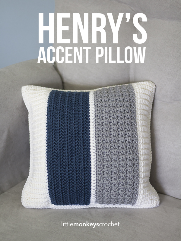 Henry's Accent Pillow