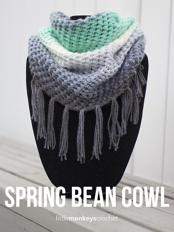 Spring Bean Cowl