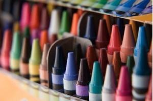 new box of crayons