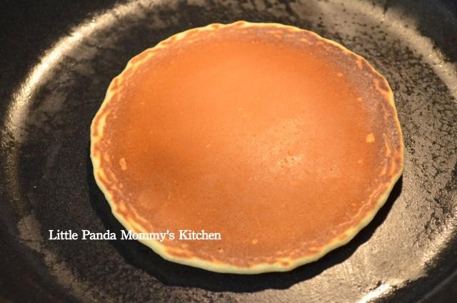 Fluffy egg white pancake