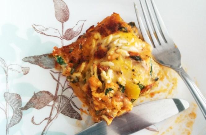 spinach-ricotta-lasagna