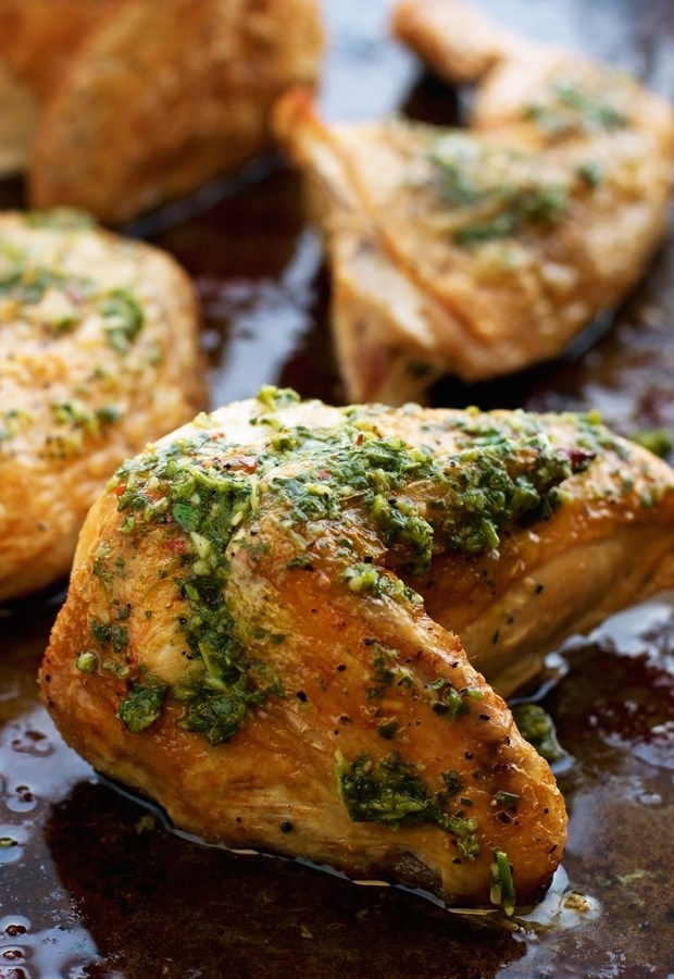 Quartered-Roasted-Chicken-with-Chimichurri-Sauce-2