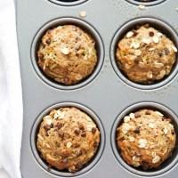 Healthy-Zucchini-Chocolate-Chip-Muffins-6