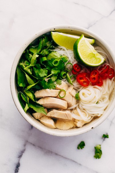 Instant Pot Chicken Pho Noodle Soup (Pho Ga) Recipe   Little Spice Jar