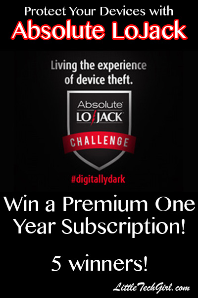 How Absolute LoJack Can Protect Your Gadgets (with Giveaway)