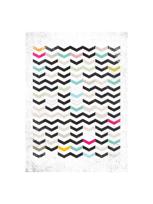 Dirty Chevron by by Matthew Taylor Wilson