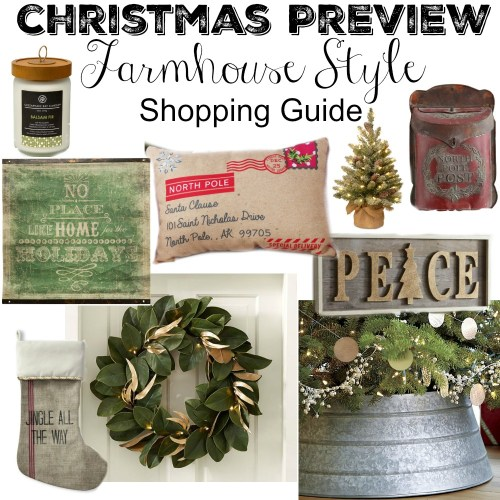 Medium Crop Of Farmhouse Christmas Decor