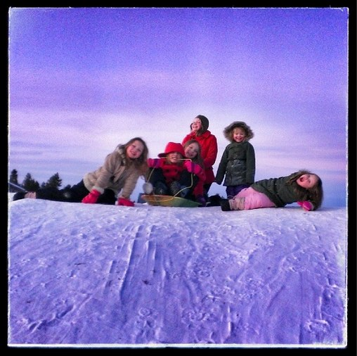 sleddinghill