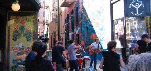 Jack Kerouac Alley, Chinatown / North Beach