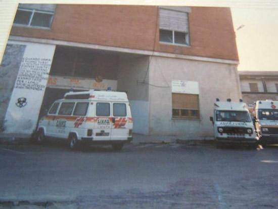 La prima storica sede della LIVAS