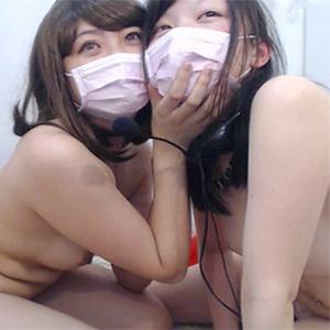(らいぶちゃっとムービー)むっちり系のレズビアン友2人がガチでえろえろな百合プレイを楽しむ☆