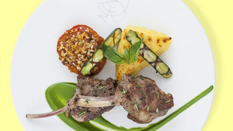 PLATS chef Boulud Plat P carre agneau0111