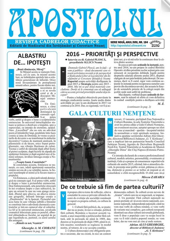 revista Apostolul