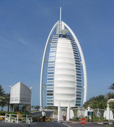Burj Al Arab - Dubai - Main Facade | Burj Al Arab (Arabic ...