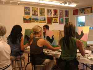 Carrie Curran Art Course Scottsdale AZ