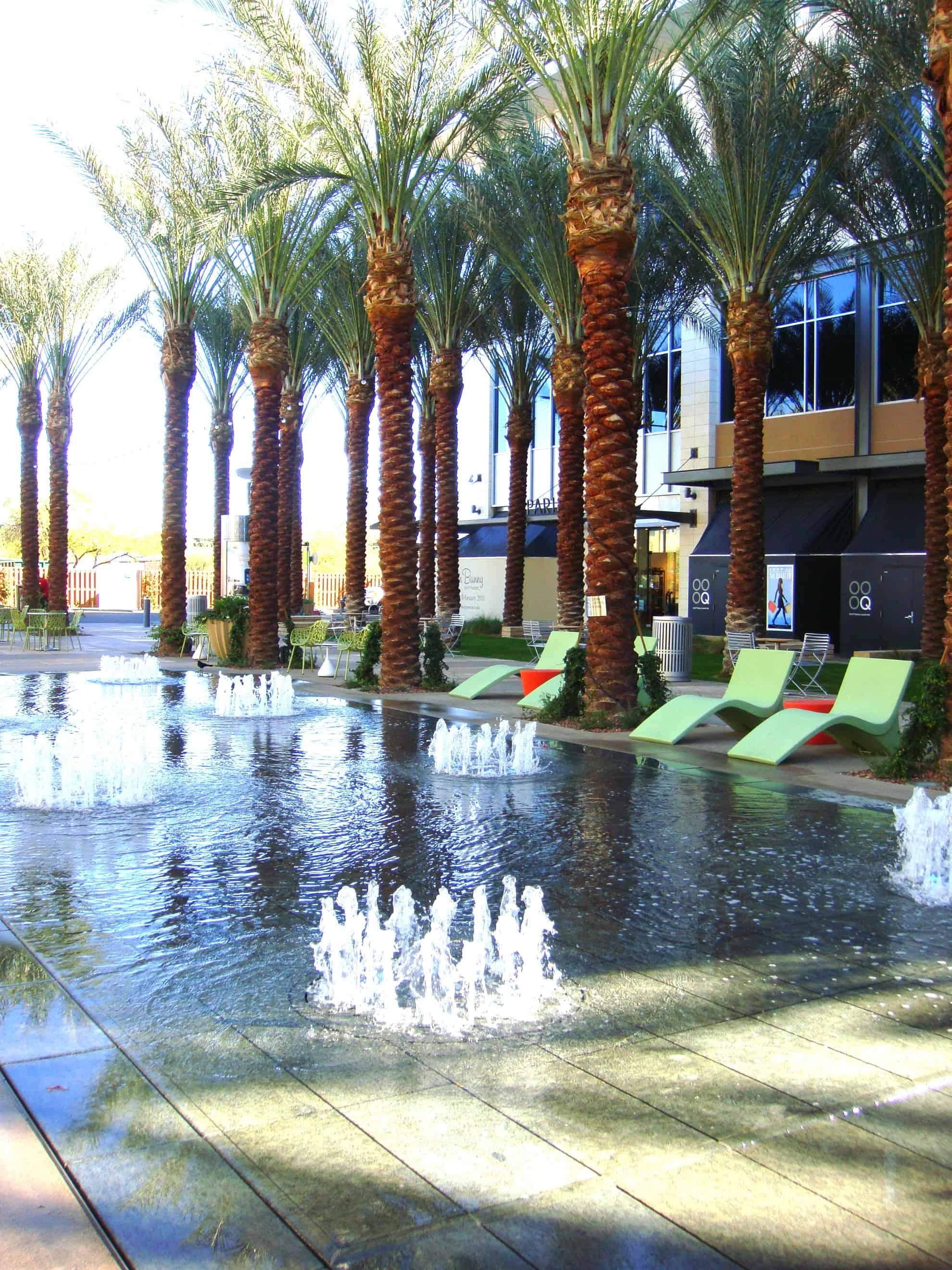 Scottsdale Quarter Splash Park