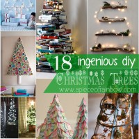 18 Ingenious DIY Christmas Trees - that are NOT Trees!