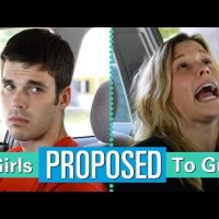 If Girls Proposed to Guys. #funny #lol
