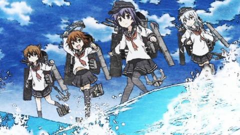【艦隊これくしょん -艦これ-】第6話 感想 第六駆逐隊が実にハラショーだ