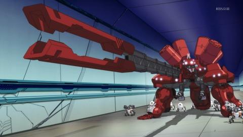 【紅殻のパンドラ】第9話 感想 大型多脚戦車は浪漫