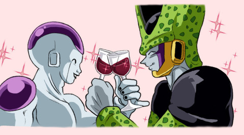 Perfect_Cell_x_Freeza_by_TechnoRanma