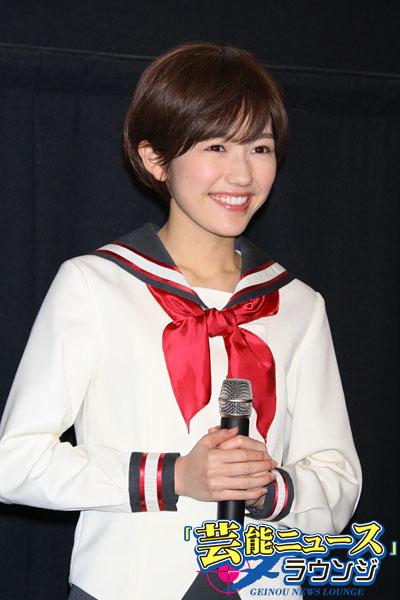 【画像あり】  AKBまゆゆ(18)がショートカットに!  似合わなすぎと話題