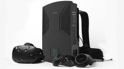 ZOTAC、GTX 1070 i7-6700T搭載のバックパック型PC「ZOTAC VR GO」を発表