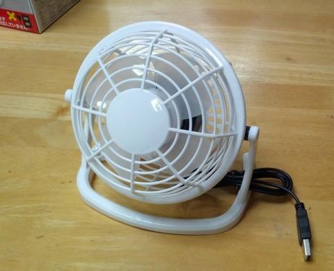 【豆知識】ダイソーの210円USB扇風機がかなり使えるらしい