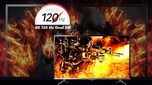 120Hz、43インチ4Kゲーミングモニター「WASABI MANGO UHD430」が1400ドルで発売