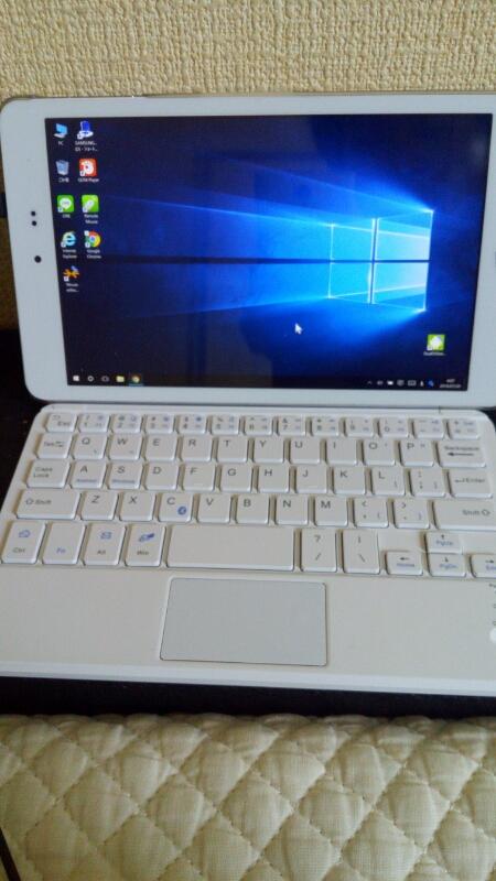 Windowsタブレットにタッチパッド付きキーボード付けたら化け過ぎワロタwww