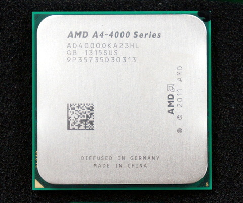 米AMD、デスクトップ向けAシリーズAPU最廉価モデル「A4-4000」発表