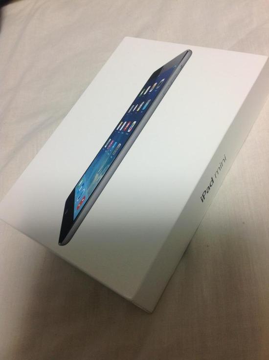 新型iPad Mini買ったから今から開けて行こうと思う