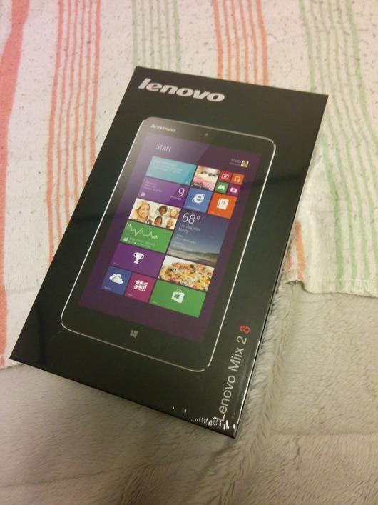 タブレット「Lenovo Miix 2 8」買ったったwww