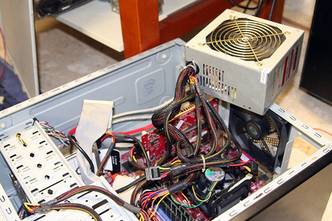 Verudium Power Supply Unit Cleaning