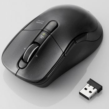 これは便利! 一気に数千行スクロール可能なワイヤレスマウス「M-BL23DB」を発表 これでExcel作業もサクサク進む!