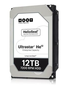 HGST製12TBのHDD「Ultrastar He12」が販売開始