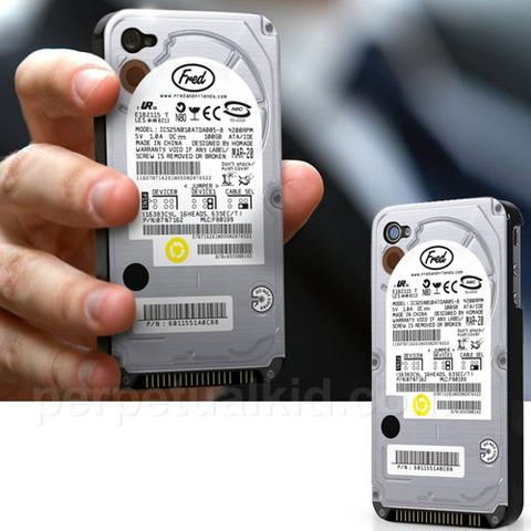 【画像あり】 iPhoneがHDDそっくりに変身したよー