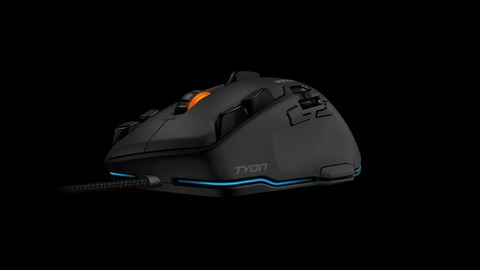 ROCCAT、新作ゲーマー向けマウス「Tyon」を発表